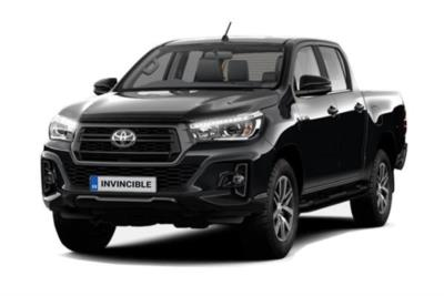 Toyota Hilux Diesel Invincible  AT35 D/Cab Pick Up 2.4 D-4D Auto (Nav) 3.5t Tow Lease 6x47 10000