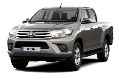 Toyota Hilux Diesel Icon D/ Cab Pick Up 2.4 D-4D TSS (Nav) 3.5t Tow Lease 6x47 10000