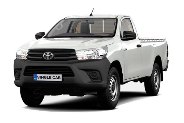 Toyota Hilux Diesel Active Pick Up 2.4 D-4D TSS (3.5t Tow) Lease 6x47 10000