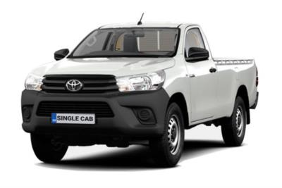 Toyota Hilux Diesel Active Pick Up 2.4 D-4D (3.5t Tow) Lease 6x47 10000
