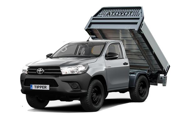 Toyota Hilux Diesel Active Tipper 2.4 D-4D (3.5t Tow) Lease 6x47 10000