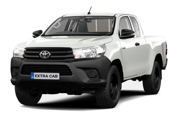 Toyota Hilux Diesel Active Extra Cab Pick Up 2.4 D-4D (3.5t Tow) Lease 6x47 10000