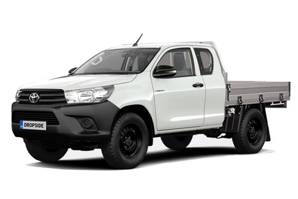 Toyota Hilux Diesel Active Extra Cab Dropside 2.4 D-4D (3.5t Tow) Lease 6x47 10000