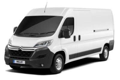Citroen Relay 35 Heavy L4 Diesel 2.2 BlueHDi H2 Van 140ps Driver Lease 6x47 10000