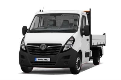 Vauxhall Movano 3500 L2 Diesel FWD 2.3 Turbo D 135ps H1 Tipper Business Contract Hire 6x47 10000