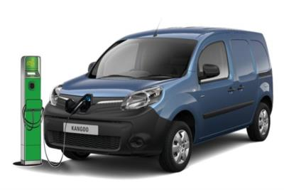 Renault Kangoo ZE Electric ML20 44kw 33kwh Busines i-Van Auto Business Contract Hire 6x47 10000