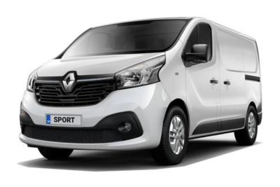 Renault Trafic SWB Diesel SL28 Energy dCi 120 Sport Nav Van Business Contract Hire 6x47 10000