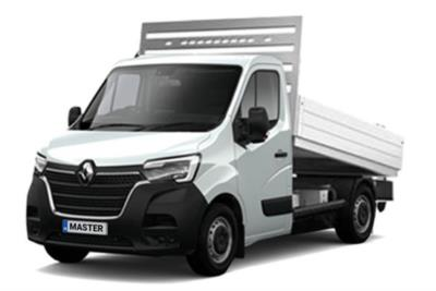 Renault Master LWB Diesel FWD LL35dCi 135 Business Low Roof Aluminium Tipper Lease 6x47 10000