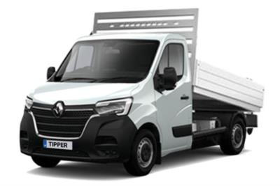 Renault Master LWB Diesel RWD LL35dCi 130 Business Low Roof Aluminium Tipper Lease 6x47 10000
