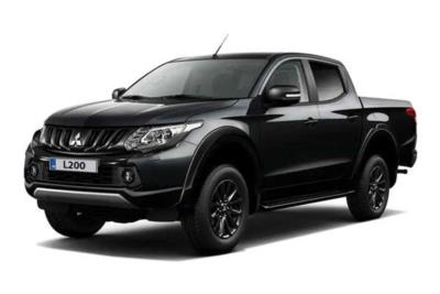 Mitsubishi L200 Diesel Special Edition Double Cab Di-d 181 Challenger 4wd Auto Business Contract Hire 6x35 10000