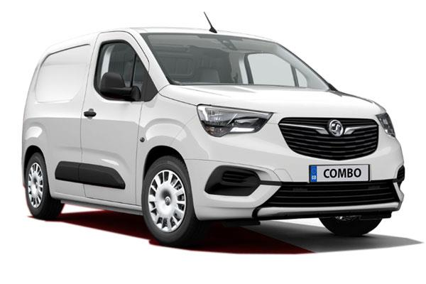 Vauxhall Combo Cargo L1 Diesel 2000 1.5 Turbo D 100ps H1 Sportive Van Business Contract Hire 6x47 10000