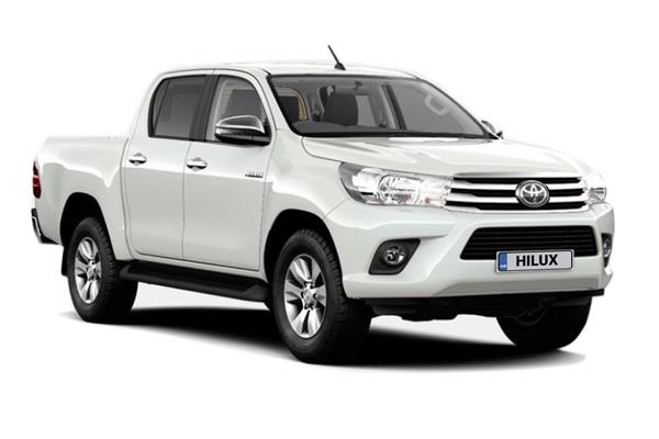 Toyota Hilux Diesel Icon Double Cab 2.4 D-4d Pick Up 6Mt TSS Business Contract Hire 6x47 10000